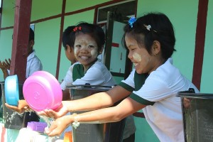 Hand Washing days at Maw Village  (2)